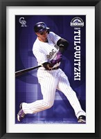 Framed Colorado Rockies® - T Tulowitzki 14