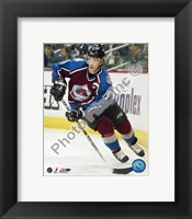 Framed Joe Sakic Action