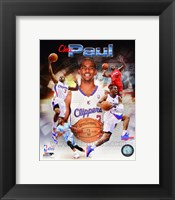 Framed Chris Paul 2014 Portrait Plus