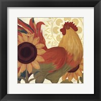 Framed Spice Roosters II