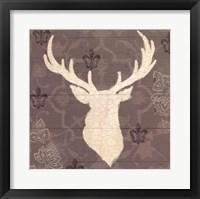 Rustic Elegance I Framed Print