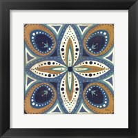 Framed Proud as a Peacock Tile II