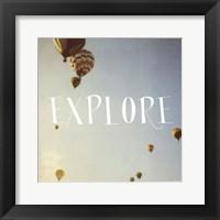 Framed Flight of Fancy - Explore