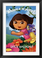 Framed Dora - Explore