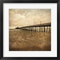 Vintage Pier II Framed Print