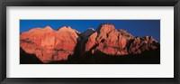 Framed Zion National Park UT USA