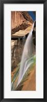 Framed Calf Creek Falls UT USA