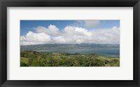 Framed Clouds over a lake, Arenal Lake, Guanacaste, Costa Rica