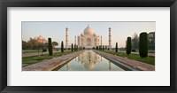 Framed Taj Mahal, Agra, Uttar Pradesh, India