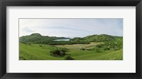 Framed Island, Rinca Island, Indonesia