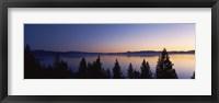 Framed Lake Tahoe, California