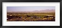 Framed Overview of Alamogordo, Otero County, New Mexico, USA