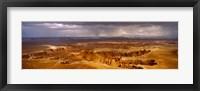 Framed Storm clouds over Canyonlands National Park, Utah