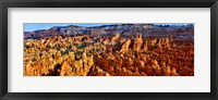Framed Hoodoo rock formations in Bryce Canyon National Park, Utah, USA