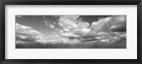 Framed Hayden Prairie, Iowa (black and white)