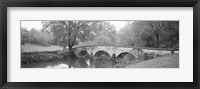 Framed Burnside Bridge Antietam National Battlefield Maryland USA