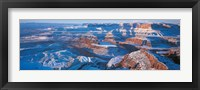 Framed Dead Horse Point State Park w\ Canyonlands National Park UT USA