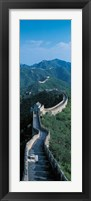Framed Great Wall of China Beijing China