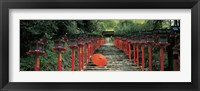 Framed Kibune Shrine Kyoto Japan