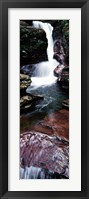 Framed Close-up of a waterfall, Ricketts Glen State Park, Pennsylvania, USA