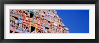 Framed Low angle view of a temple, Tiruchirapalli, Tamil Nadu, India