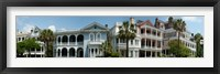 Framed Houses along Battery Street, Charleston, South Carolina