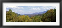 Framed View from River Road, Great Smoky Mountains National Park, North Carolina, Tennessee, USA