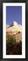 Framed Low angle view of the Mt Rushmore National Monument, South Dakota, USA