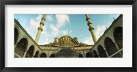 Framed Low angle view of inside of New Mosque, New Mosque, Eminonu, Istanbul, Turkey