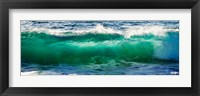 Framed Wave splashing on the beach, Todos Santos, Baja California Sur, Mexico
