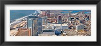 Framed Aerial view of a city, Atlantic City, New Jersey, USA