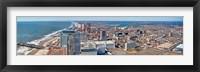 Framed Cityscape, Atlantic City, New Jersey, USA