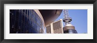 Framed Low angle view of Bridgestone Arena, Nashville, Tennessee, USA