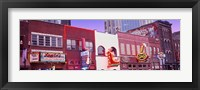 Framed Neon signs on buildings, Nashville, Tennessee