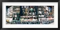 Framed Bowery Street, Soho, Manhattan, New York City, New York State