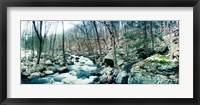 Framed River flowing through a valley, Hudson Valley, New York State