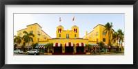 Framed Facade of a hotel, Colony Hotel, Delray Beach, Palm Beach County, Florida, USA
