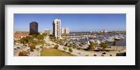 Framed Boats at a marina, West Palm Beach, Palm Beach County, Florida, USA