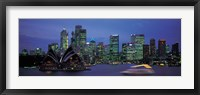Framed Buildings at the waterfront, Sydney Opera House, Sydney, New South Wales, Australia