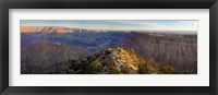Framed High angle view of Desert Point, South Rim, Grand Canyon, Grand Canyon National Park, Arizona, USA