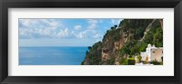 Framed Hillside at Positano, Amalfi Coast, Italy