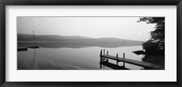 Framed Pier, Pleasant Lake, New Hampshire, USA