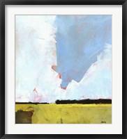 Framed Barley Field