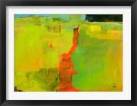 Framed Orange Path