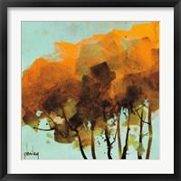 Framed Seven Trees