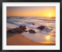 Framed Pacific Calm