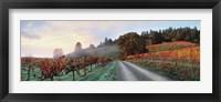 Framed Storybook Mountain