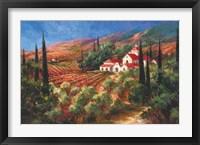 Framed Tuscan Monastery