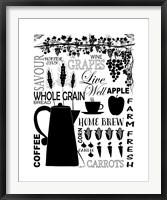 Culinary Love 2 Framed Print
