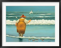 Framed Surfside Fishing